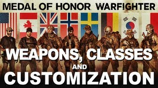 Medal of Honor Warfighter - Menus, Weapons & Customization (BETA)