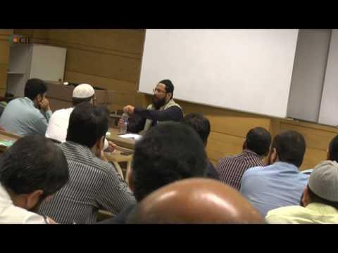 Dr Muhammad Imran Usmani in IBA CEIF Karachi on AAOIFI Shariah Standard (part 1)