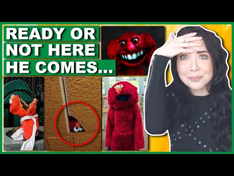 NEVER Play Hide & Seek With Elmo