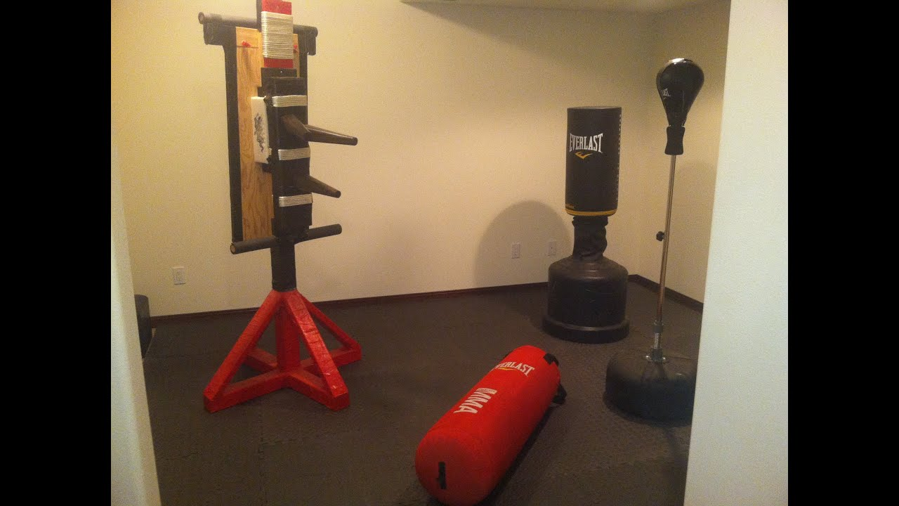 Martial Arts Training in Home Gym