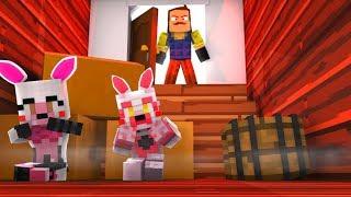 Locked in Hello Neighbor Secret Room! (Minecraft Fnaf Daycare)