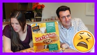 Trying TERRIBLE Lunchables!