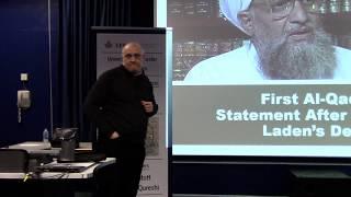 Dr. Paul Stott speaking at University of Leicester on Terrorism in J&K, organized by EFSAS