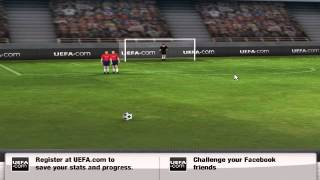 UEFA Free Kick Fever Gameplay Video