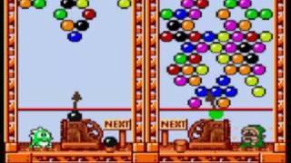 Puzzle Bobble Mini Game Sample - NeoGeo Pocket Color