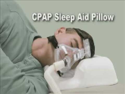 sleep better with cpap pillow for sleep apnea video - Sleep Apnea Pillow