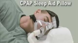 Sleep Better with CPAP Pillow for Sleep Apnea Video