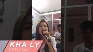 Tóc Gió Thôi Bay - Ba đàn guitar Kha Ly hát ở quê nhà An Giang