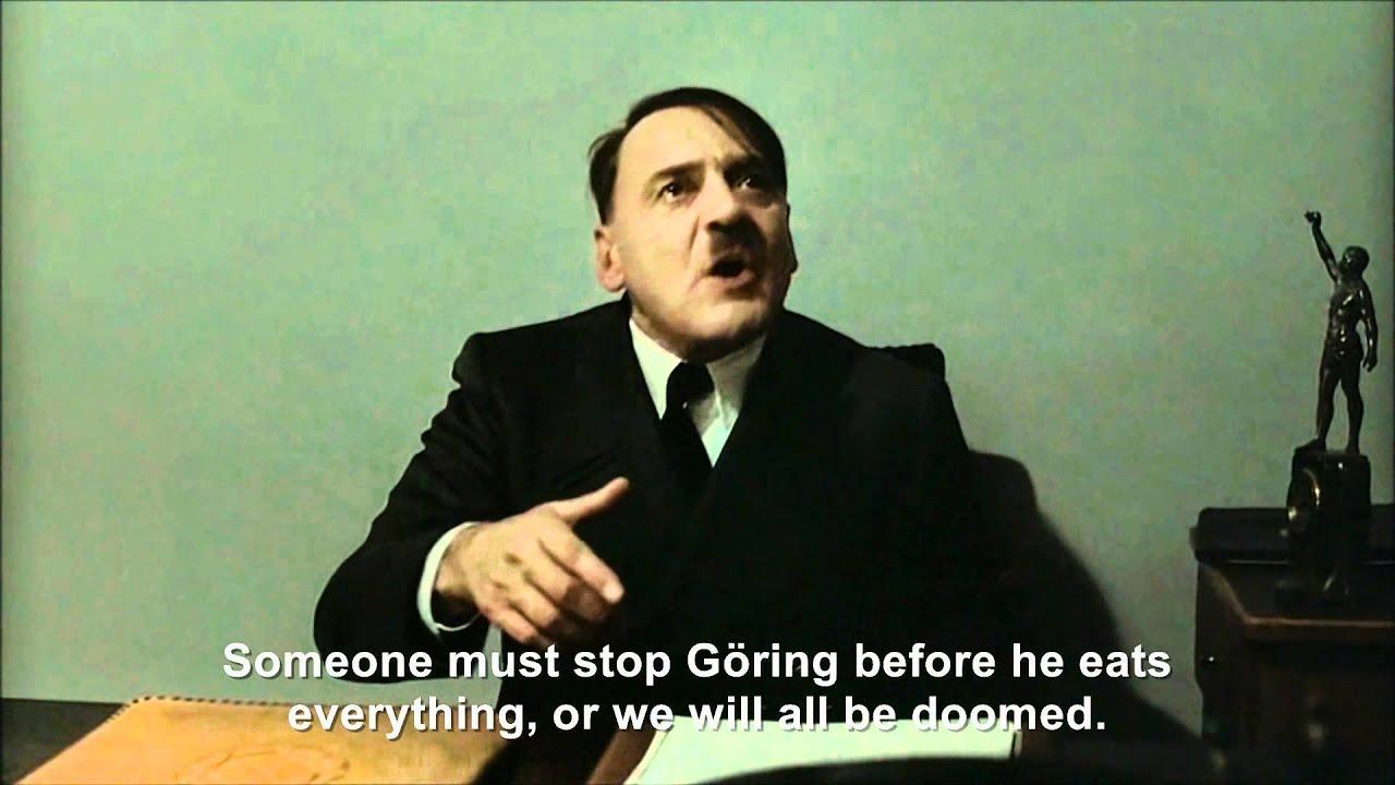 Hitler is informed Reichmart had no dog food