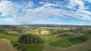 dji phantom 4 quadrocopter high altitude flight 360 4K