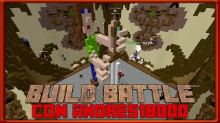 5 partidas de Build Battle con una suerte TERRIBLE! -Nicko GEX Ft. Andres18000