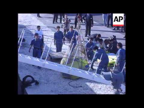 SPAIN: THREE TONS OF COCAINE FOUND ON BOARD SHIP