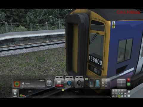 Trainsimulator Class 158 Comparison - Part2 From Settle to Carlisle DLC |