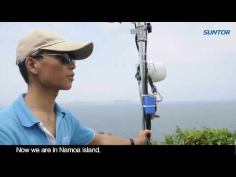 Suntor  30km long range outdoor wireless transmission equipment test