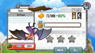 How to breed Bat Dragon 100% Real! Dragon City Mobile! wbangcaHD! [Special Dragon]