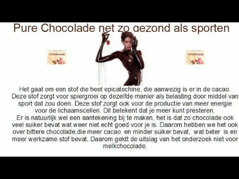 chocolade is gezond