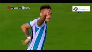 Gol de Lautaro Martinez - Independiente vs Racing 2-2 - Torneo de Verano 2018 - Mar del Plata