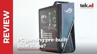 Review ASUS ROG Strix GA15, PC pre-built cocok buat gamer pemula