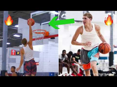 Is LaMelo Ball SNEAKILY Atheltic .. or Just Unathletic? | Better Dunks Than Lonzo? | JBA League