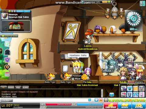 Maplestory All Star hair Coupons~