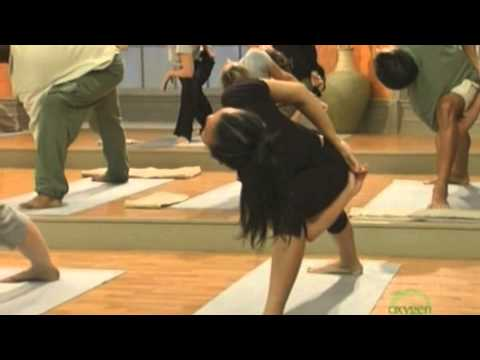 """Inhale"" yoga with Steve Ross, 2010-04-23"