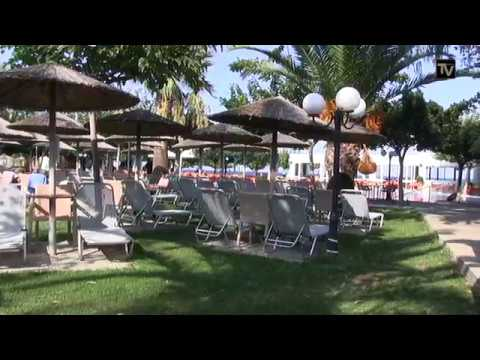 The Pool Area Of The Corissia Beach Hotel In Georgioupolis September 2016 Crete Hd
