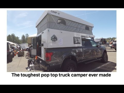 The toughest pop top truck camper ever made by Overland Explorer : Overland  Expo 2018