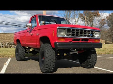 Ford Trucks 2016 >> My 1983 Ford Ranger Lifted V6 4x4 (Fully Built) - YouTube