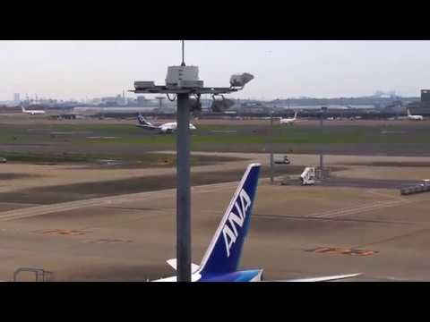 2016/06/19 ANA Boeing 787-8 サバたん JA801A takes off from runway 16, HND