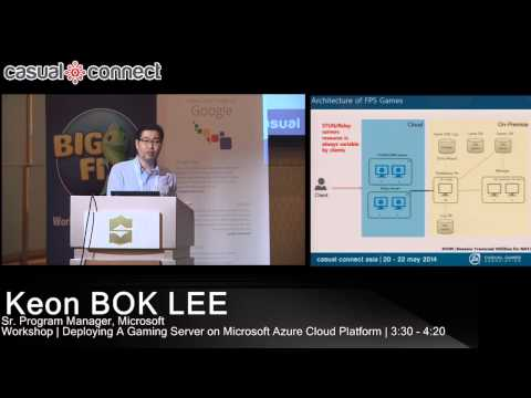 Deploying Gaming Server on Microsoft Azure Cloud Platform | Keon BOK LEE