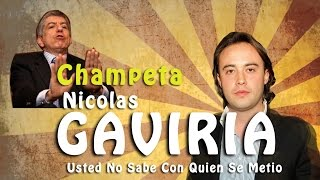 NICOLAS GAVIRIA - USTED NO SABE QUIEN SOY YO (Champeta)