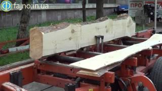 Мобильная пилорама LT20 от Wood-Mizer - видео в работе(Данное видео содержит информацию о том, как работает мобильный ленточнопильный станок LT70 от Wood-Mizer. Мобильн..., 2015-06-11T08:40:49.000Z)