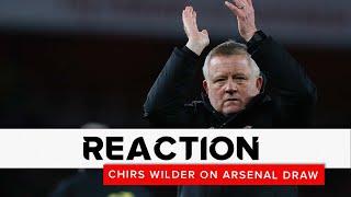 Chris Wilder | Arsenal v Sheffield United | Reaction interview