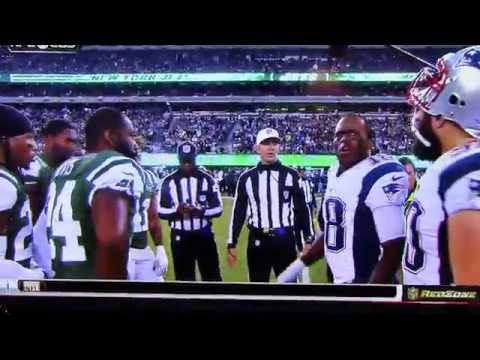 jets patriots coin toss - Matthew Slater elects to kick off in overtime