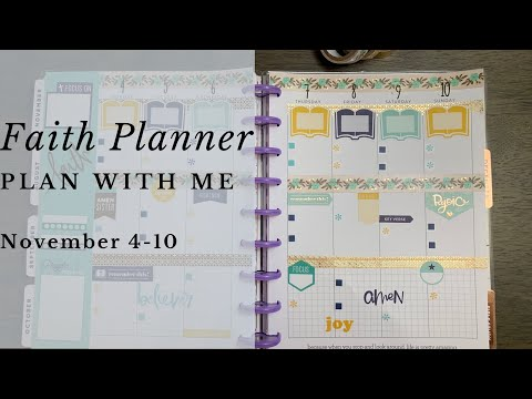 Plan With Me: Faith Planner
