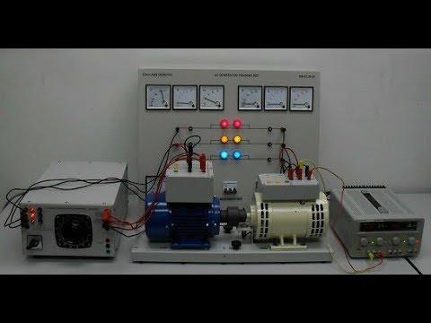 22 kW Test . Motor Generator    without flywheel   .  a good model. thumbnail
