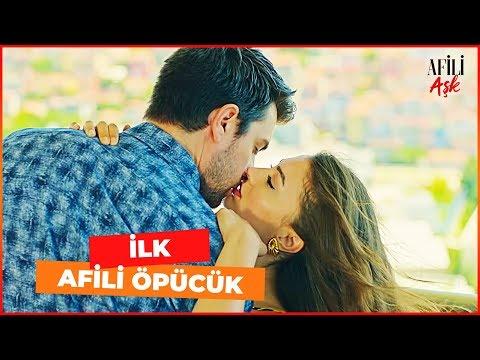 Ayşe ve Kerem'den İLK ÖPÜCÜK ♥ - Afili Aşk 9. Bölüm (FİNAL SAHNESİ)