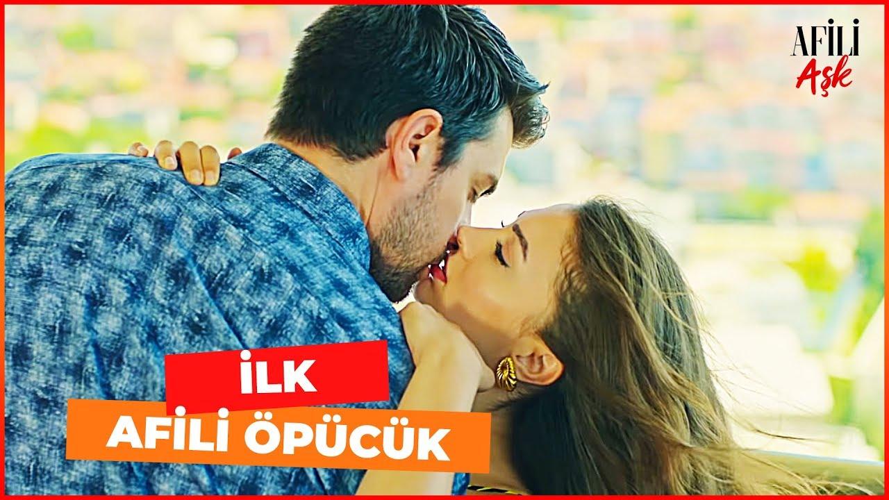 Ayşe ve Kerem'den İLK ÖPÜCÜK  - Afili Aşk 9. Bölüm (FİNAL SAHNESİ)