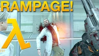 Gordon Freeman Goes on a Rampage!