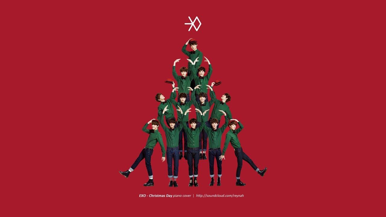 christmas day exo piano sheet