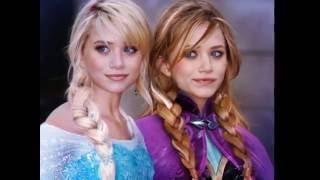 "Frozen top 20 the best Cosplay, Elsa and Anne Disney ""Demi Lovato-Let It Go (Single Version)"