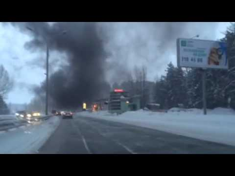 20141126 Novosibirsk tanker burning