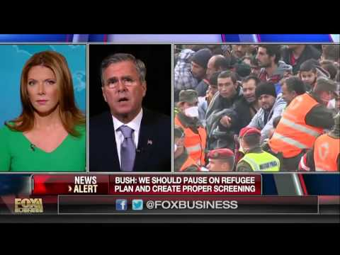 Bush: We Should Pause On Refugee Plan And Create Proper Screening