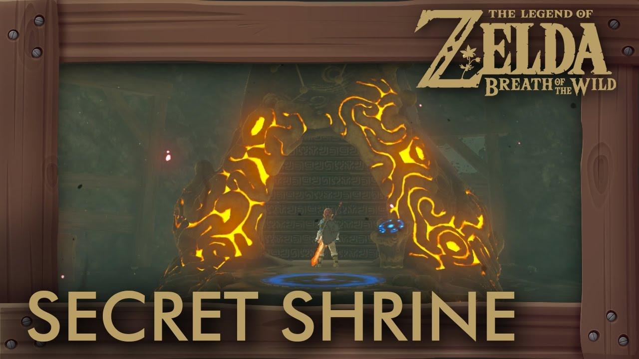 Zelda Breath Of The Wild How To Unlock Secret Shrine In Hyrule Castle Youtube