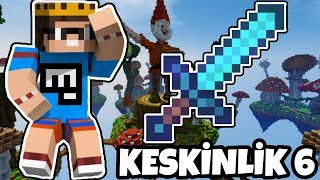BEN SUSTUM KESKİNLİK 6 KONUŞTU | Minecraft Egg Wars