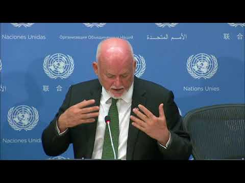 Peter Thomson (President of the General Assembly) on the SDGs - Press Conference (8 September 2017)