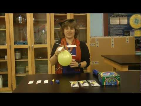 Harmony Science Academy Beaumont   STEM Project   Balloon Helicopter
