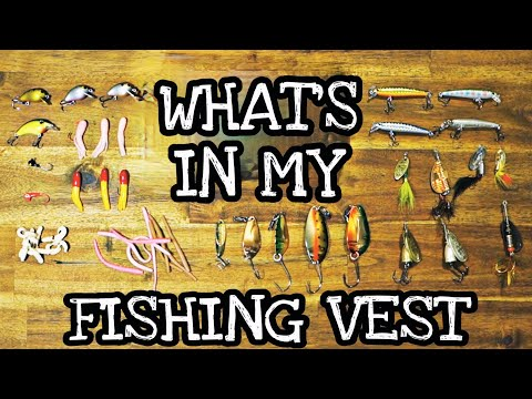 What's in my fishing vest?