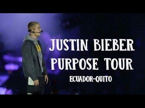 Justin Bieber Purpose Tour ECUADOR-QUITO❤ KonyMi