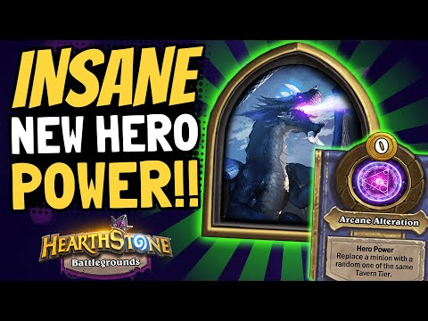 IS MALYGOS'S HERO POWER THE STRONGEST?! Super Flexible and Efficient! | Battlegrounds | Hearthstone